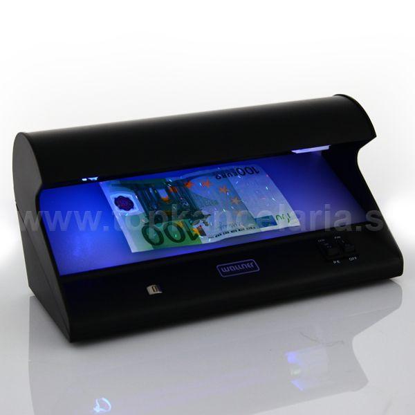UV tester nafalošné bankovky detektor